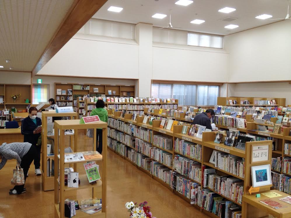県内初!公設図書館が中学校内に新オープン!五個荘図書館