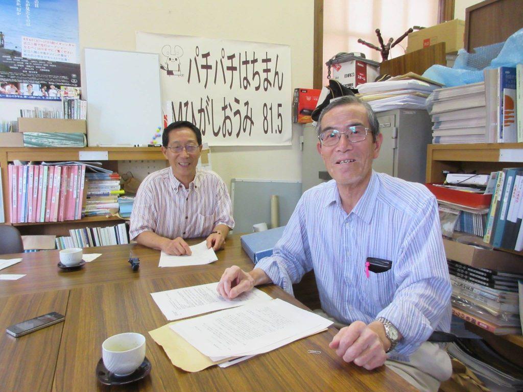 近江八幡まちや倶楽部の宮村勲さんにご出演いただきました。