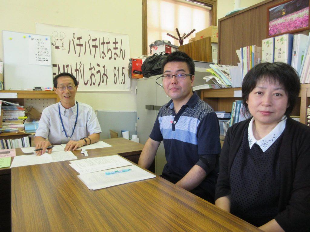 しみんふくし滋賀の塚田さんと楠亀さんにご出演いただきました。