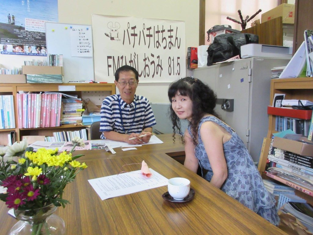 BIWAKOビエンナーレの中田洋子さんにご出演いただきました。
