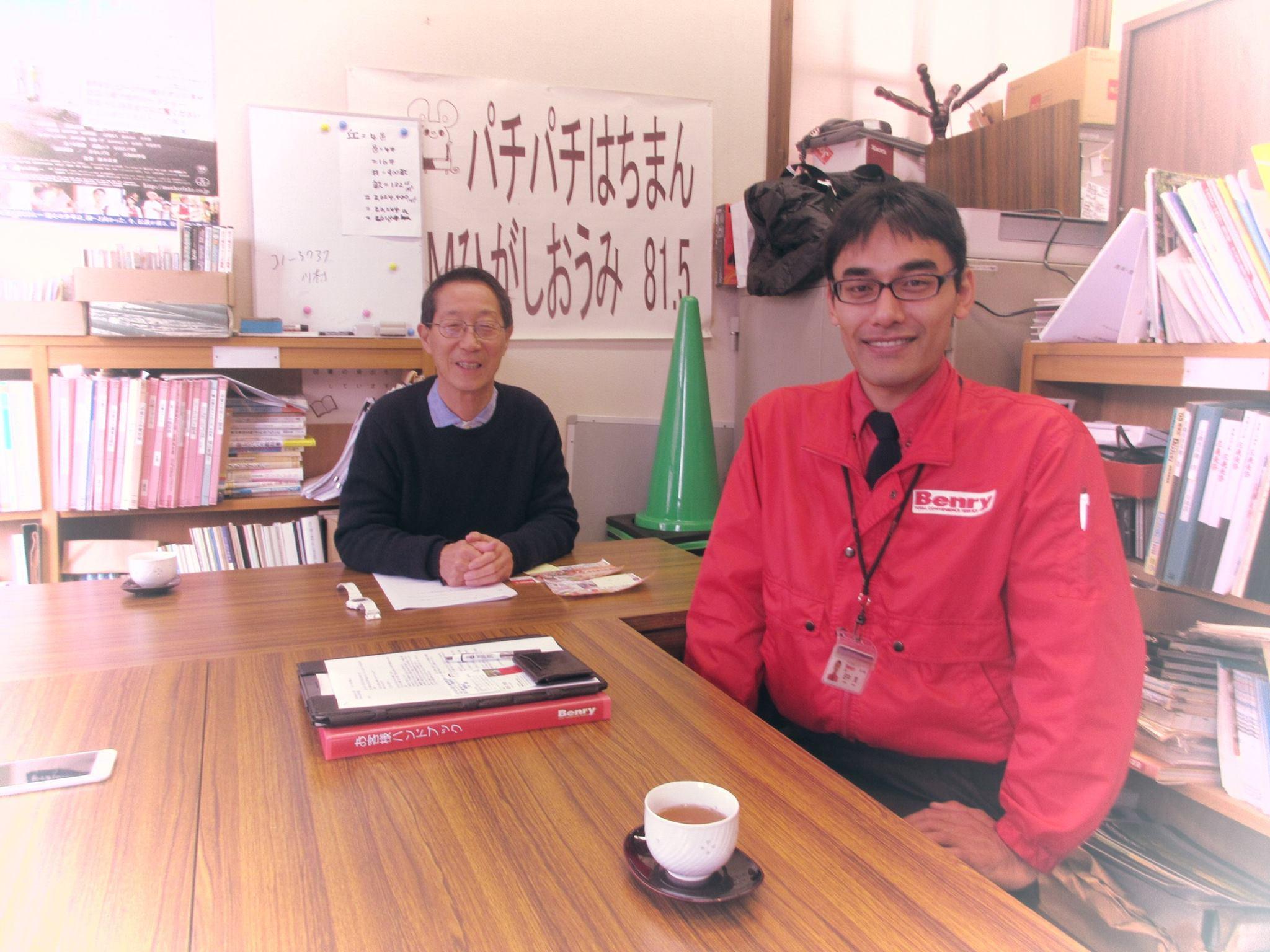 Benry(ベンリー)近江八幡店の田中さんにご出演いただきました。
