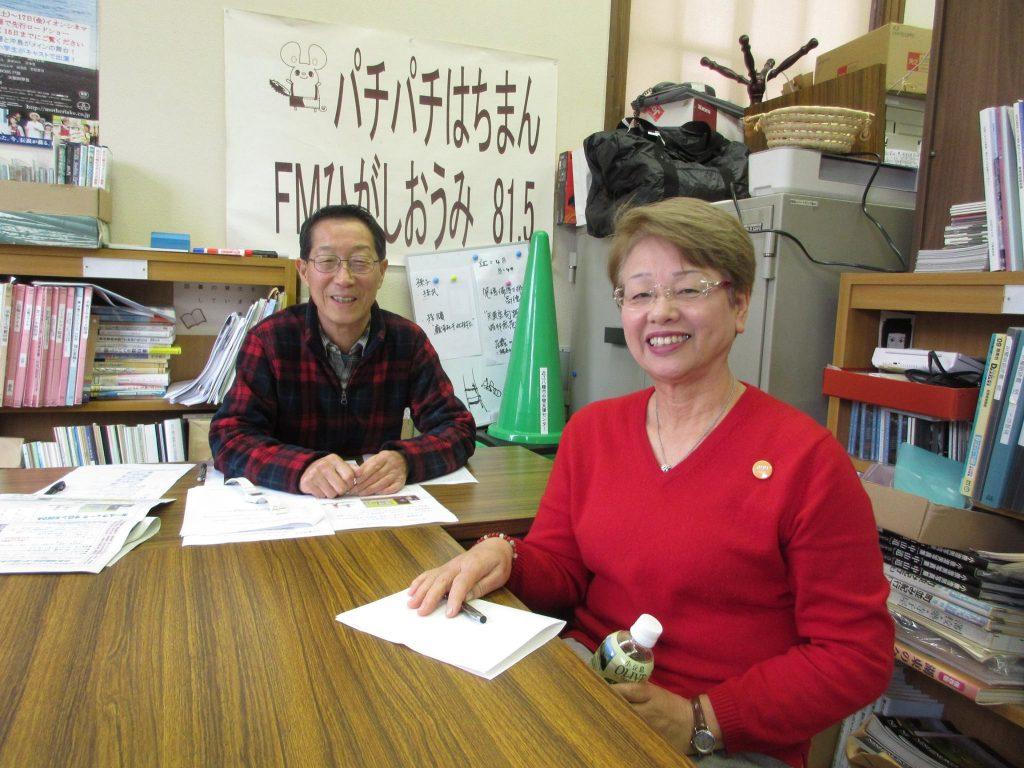ノルディック連盟公認指導員小枝美代子さんにご出演いただきました。